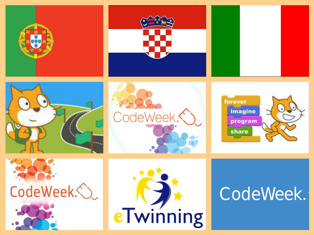 CodeWeek 4 All Challenge - eTwinning project
